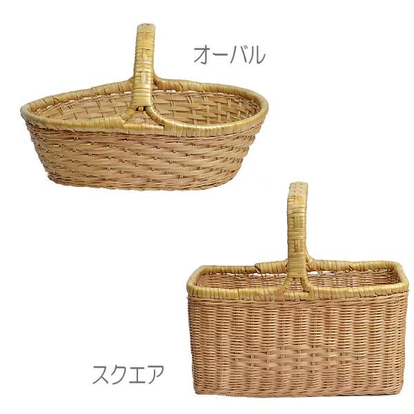 ラタンバスケット【送料無料沖縄・北海道を除く】