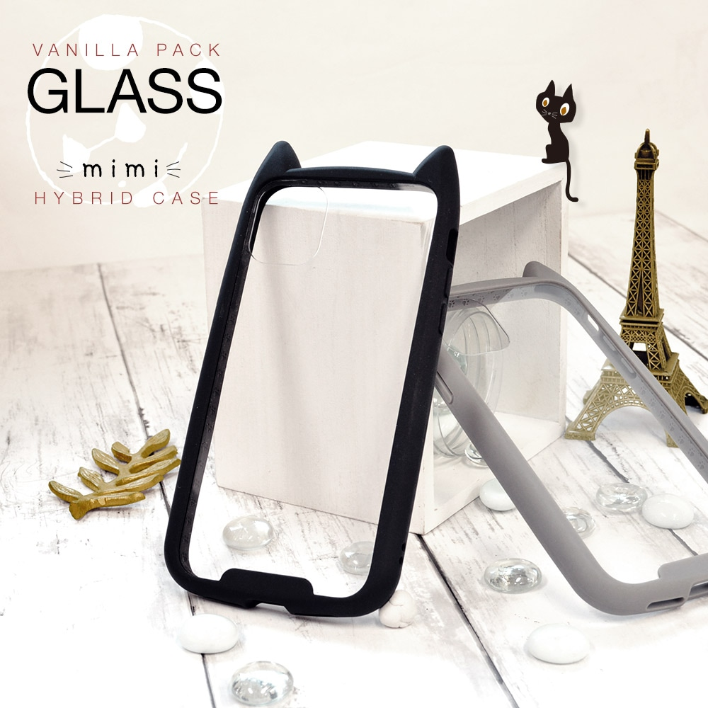 猫耳ガラス