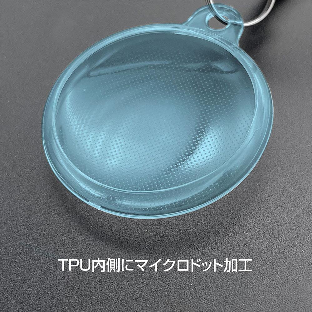 カラビナ付き TPUケース