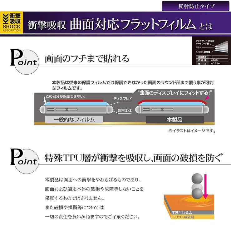 ut耐衝撃曲面_反射防止フィルム