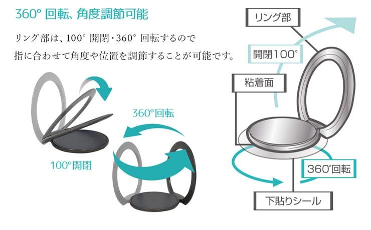 フィンガーホールドリング詳細4
