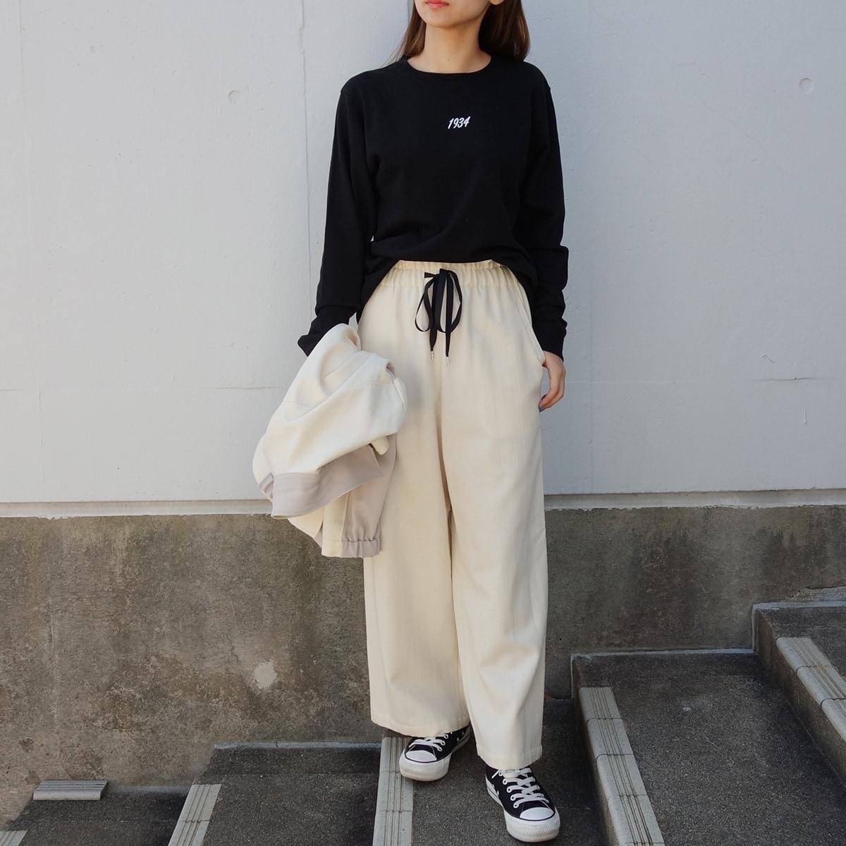MADE IN JAPAN WOOL HERRINGBONE PANTS