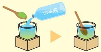 伊勢茶割り 日本酒 作り方