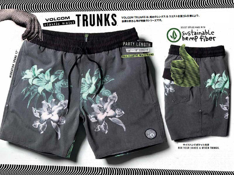 VOLCOM TRUNKS BOARD SHORTS