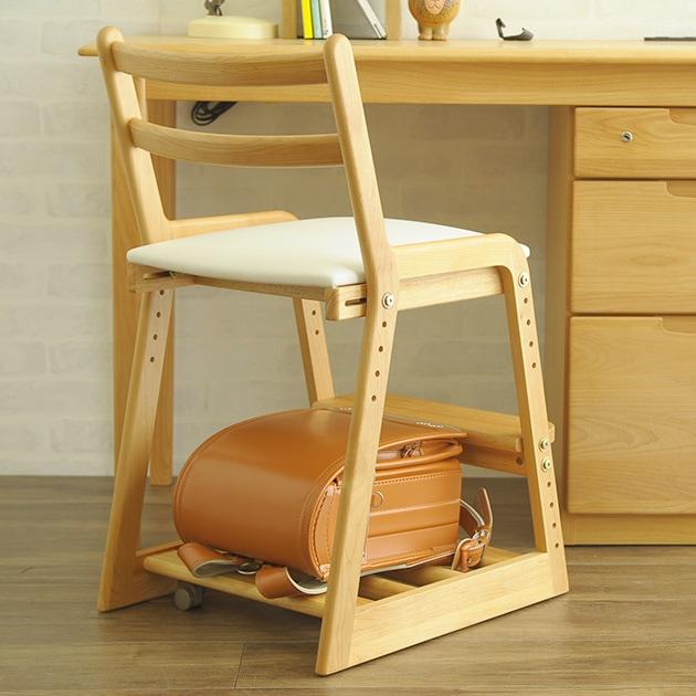ISSEIKI 一生紀 LIFE ライフ キッズチェア  学習椅子 木製 学習チェア 高さ調節 学習机 リビング学習 子供部屋 無垢材 ISSEIKI 一生紀