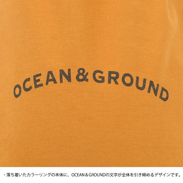 OCEAN&GROUND オーシャンアンドグラウンド コットン巾着 中  巾着 中 給食袋 整理袋 おしゃれ 男の子 女の子 入学祝い ギフト プレゼント