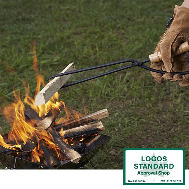 LOGOS ロゴス 薪ばさみ  薪ばさみ 薪 焚き火 たき火 ロゴス LOGOS キャンプ アウトドア キャンプ用品 アウトドア用品