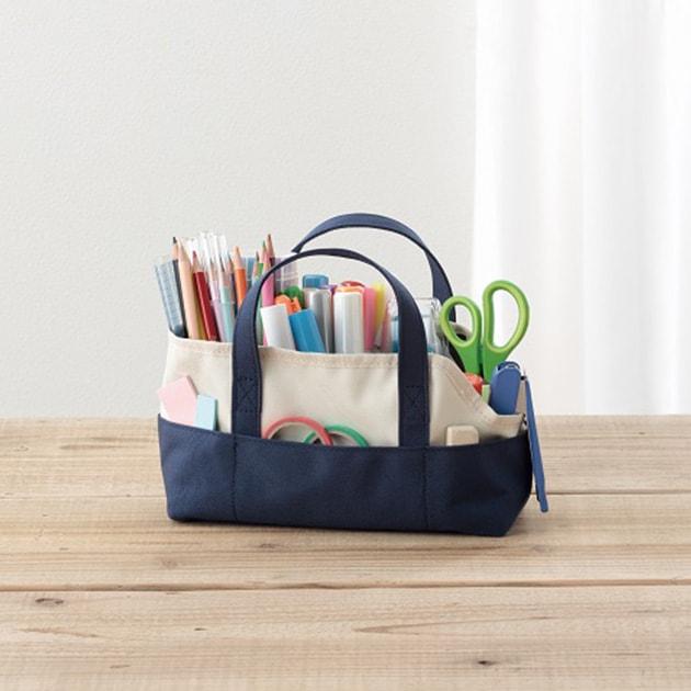 Raymay レイメイ ツールトート  トートバッグ ツールトート 勉強道具 文具 収納 持ち運び リビング学習 子供部屋 勉強 学用品