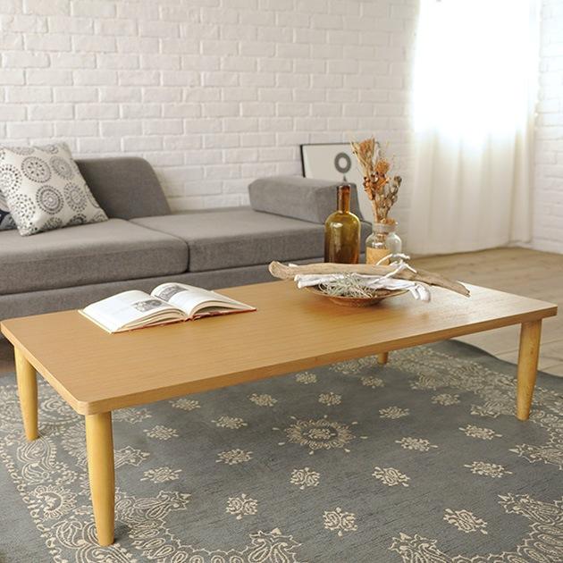 こどもと暮らしオリジナル かぞくのローテーブル   ローテーブル 木製 テーブル リビングテーブル ソファテーブル センターテーブル シンプル 北欧 ナチュラル おしゃれ