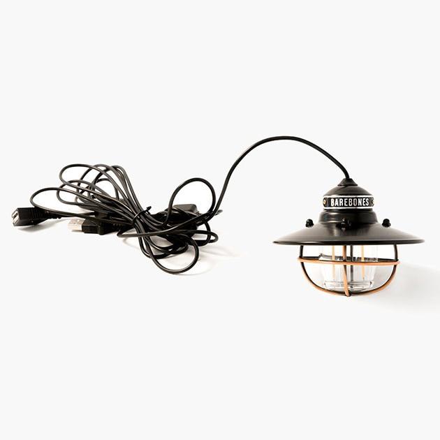 Barebones ベアボーンズ エジソン ペンダントライト LED  ペンダントライト ライト 充電式 アウトドア LED ランプ ライト キャンプ シンプル 常夜灯