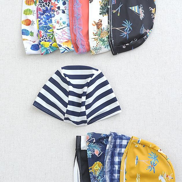 OCEAN&GROUND オーシャンアンドグラウンド スイムキャップ  スイムキャップ キッズ 子供 男の子 女の子 水泳帽 おしゃれ かわいい スイミングキャップ ベビー