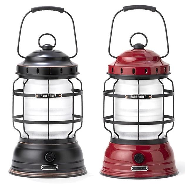 Barebones ベアボーンズ フォレストランタン LED2.0  ランタン 充電式 アウトドア LED ランプ ライト キャンプ おしゃれ アンティーク 常夜灯