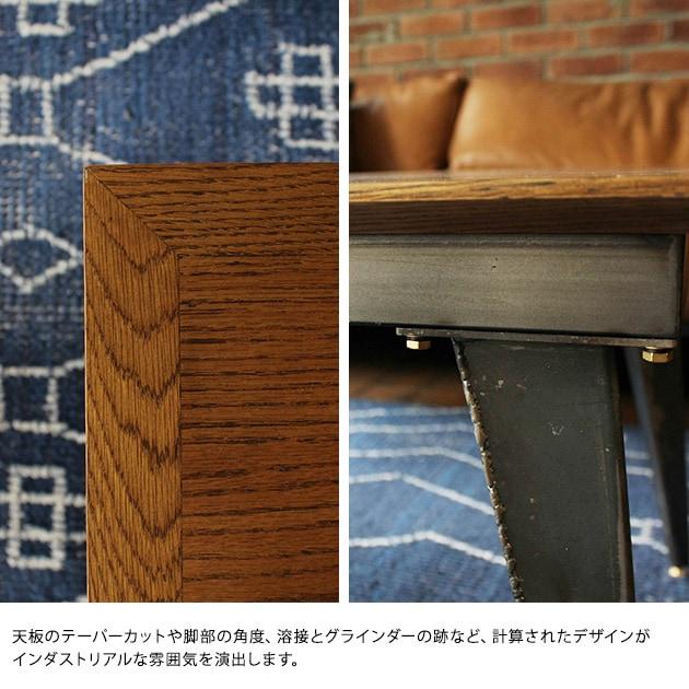 journal standard Furniture ジャーナルスタンダードファニチャー CHRYSTIE COFFEE TABLE  ジャーナルスタンダードファニチャー ローテーブル コーヒーテーブル ビンテージ オーク 無垢材 リビング リビングテーブル 木製 おしゃれ