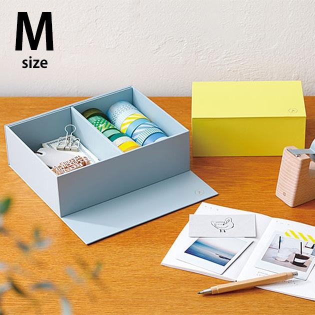 HITOTOKI STANDARD ヒトトキスタンダード マグネットボックス M 仕切りタイプ  マグネットボックス 収納 収納ボックス 収納箱 シンプル おしゃれ マグネット式 小物 文具 文房具