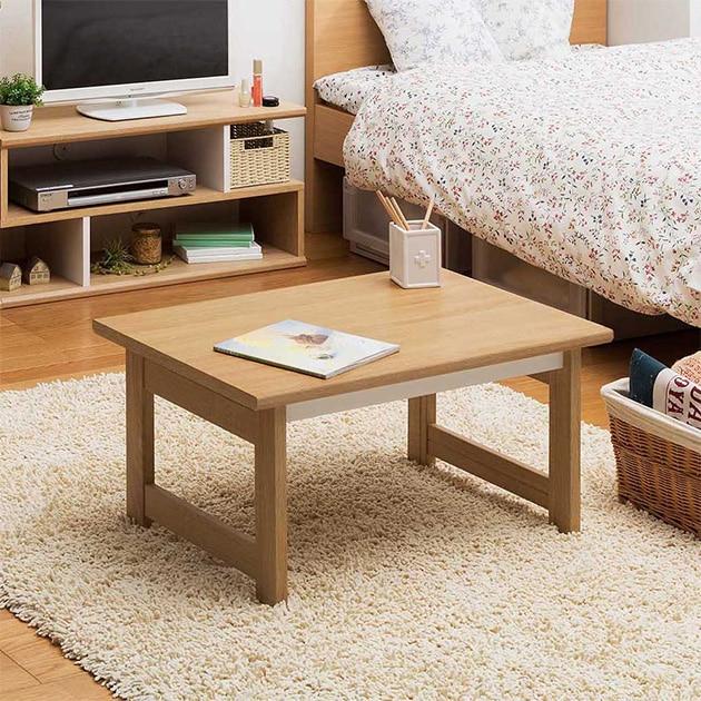 ローテーブル   シンプル テーブル ロータイプ おしゃれ コンパクト プレイテーブル ナチュラル 勉強 机 お絵描き