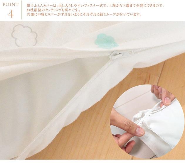 puppapupo(プッパプーポ) ベビーふとん5点セット クラウド  ベビー布団 ベビーふとん セット レギュラーサイズ 掛けふとん 敷ふとん フィッティングシーツ 枕 出産祝い ギフト