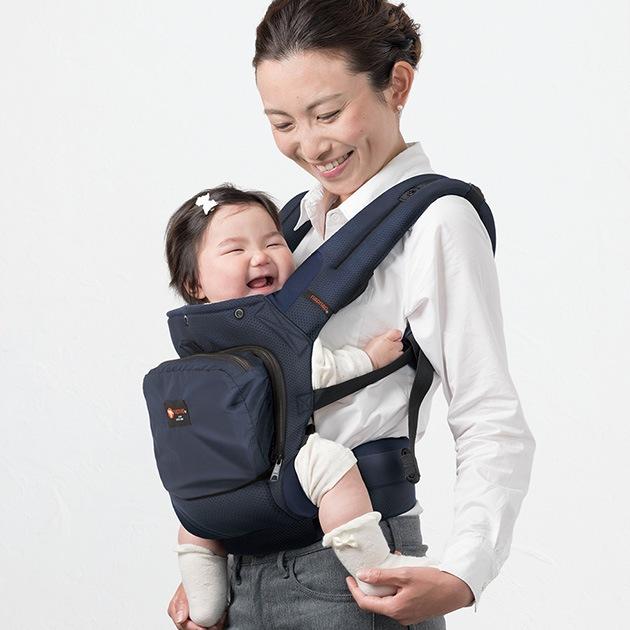 napnap ナップナップ  ベビーキャリー メッシュドライ   抱っこ紐 だっこ紐 おんぶ紐 腰ベルト ベビーキャリア 新生児 前抱き 出産祝い 出産準備 ポケット