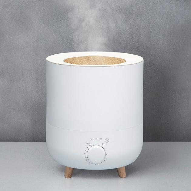 アロマ加湿器 フォグミスト  加湿器 アロマ 超音波 6畳 上から給水 上部給水 おしゃれ シンプル 無段階調節 オフタイマー