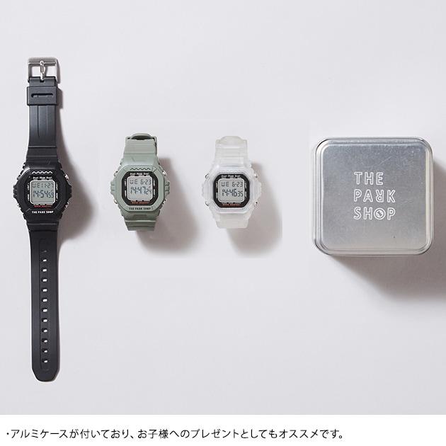 THE PARK SHOP ザ・パークショップ キッズウォッチ TECHBOY WATCH  腕時計 キッズ 男の子 防水 小学生 子供向け デジタル アラーム ストップウォッチ ギフト プレゼント