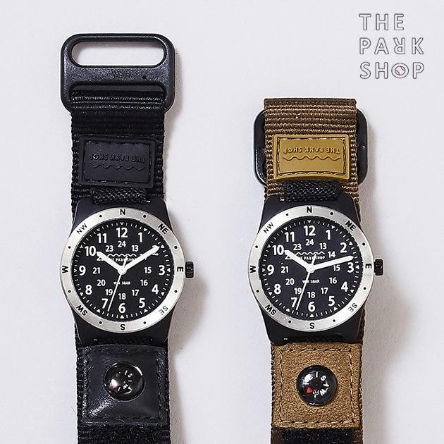 THE PARK SHOP ザ・パークショップ キッズウォッチ WATERBOY WATCH  腕時計 キッズ 男の子 防水 小学生 子供向け アナログ ミリタリー かっこいい ギフト プレゼント