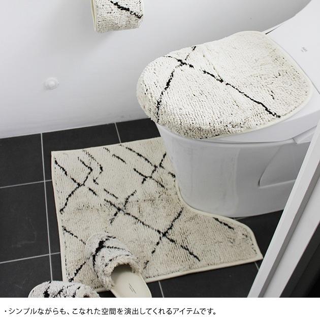 journal standard Furniture ジャーナルスタンダードファニチャー SIDI TOILET MAT  トイレマット おしゃれ 北欧 日本製 トイレファブリック トイレ マット シンプル モダン 白