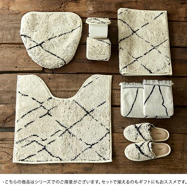 journal standard Furniture ジャーナルスタンダードファニチャー SIDI TOILET COVER  トイレカバー おしゃれ 北欧 日本製 トイレファブリック トイレ フタカバー シンプル モダン 白