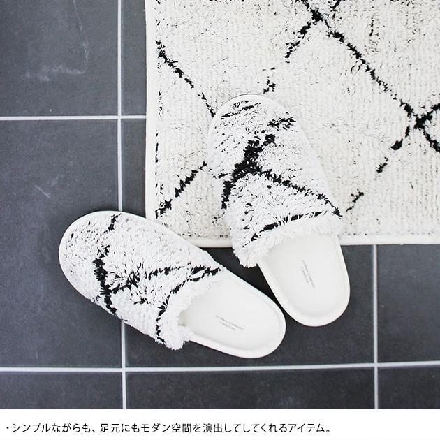 journal standard Furniture ジャーナルスタンダードファニチャー SIDI SLIPPER 28C  トイレスリッパ おしゃれ 北欧 日本製 トイレファブリック トイレ スリッパ シンプル モダン 白