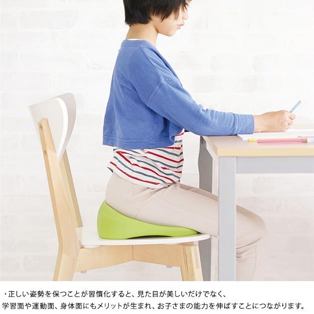 ソニック リビガクすくすクッション  クッション 座布団 姿勢 子供 学習 集中力 椅子用 猫背対策 水拭き 高さ合わせ