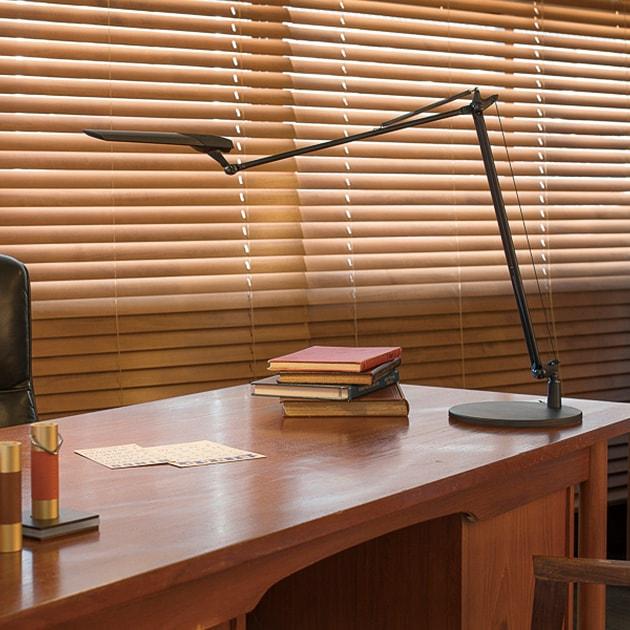 スワン電器 デスクライト LedicExarm DIVA 966  デスクライト LED スタンド式 電気スタンド おしゃれ 調光 調色 スタイリッシュ 電器照明 テレワーク