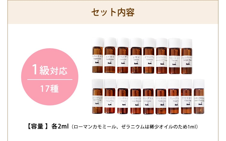 香りのテスト1級対応