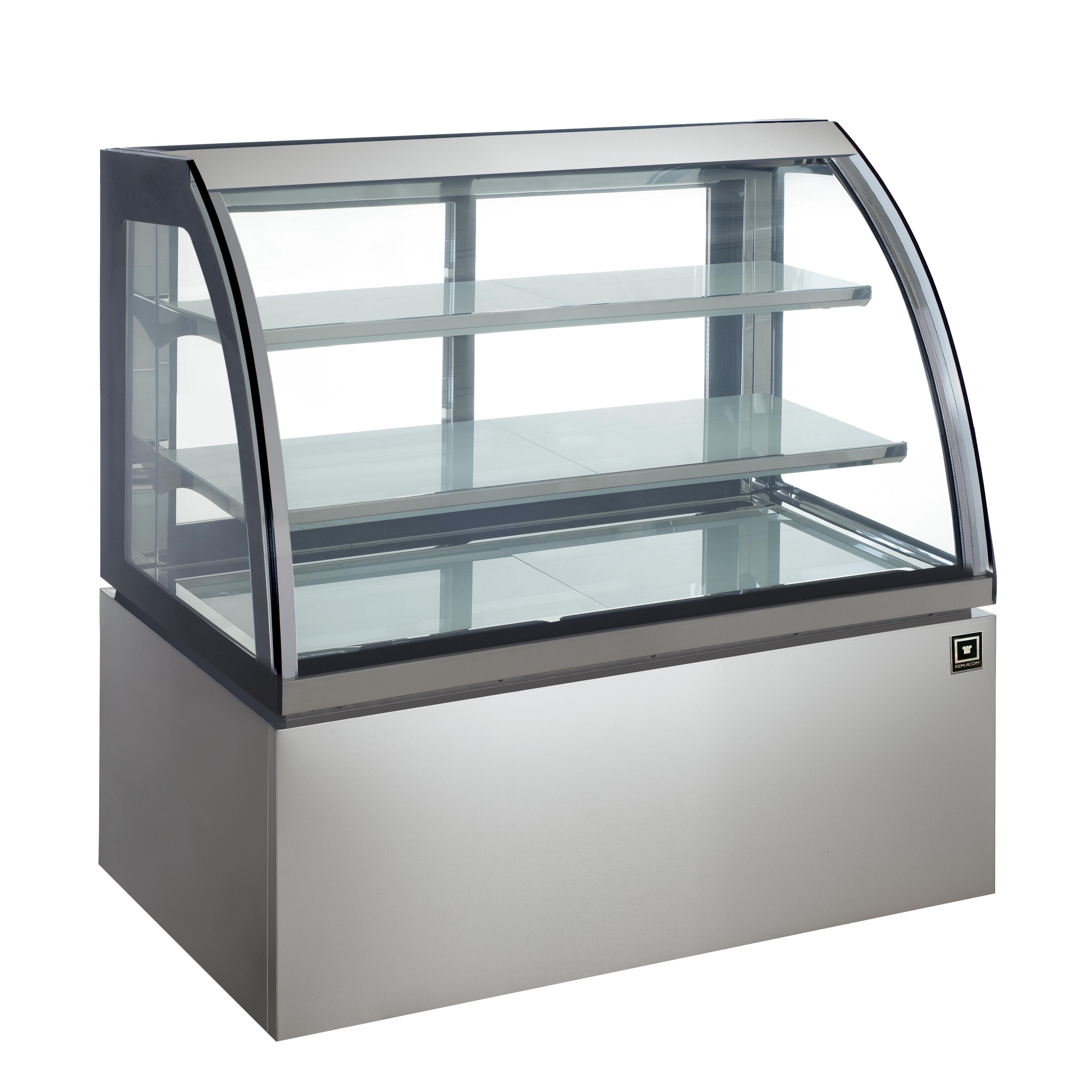 対面冷蔵ショーケース LED仕様 3段(中棚2段)幅1200mmタイプ RCS-K120S2L