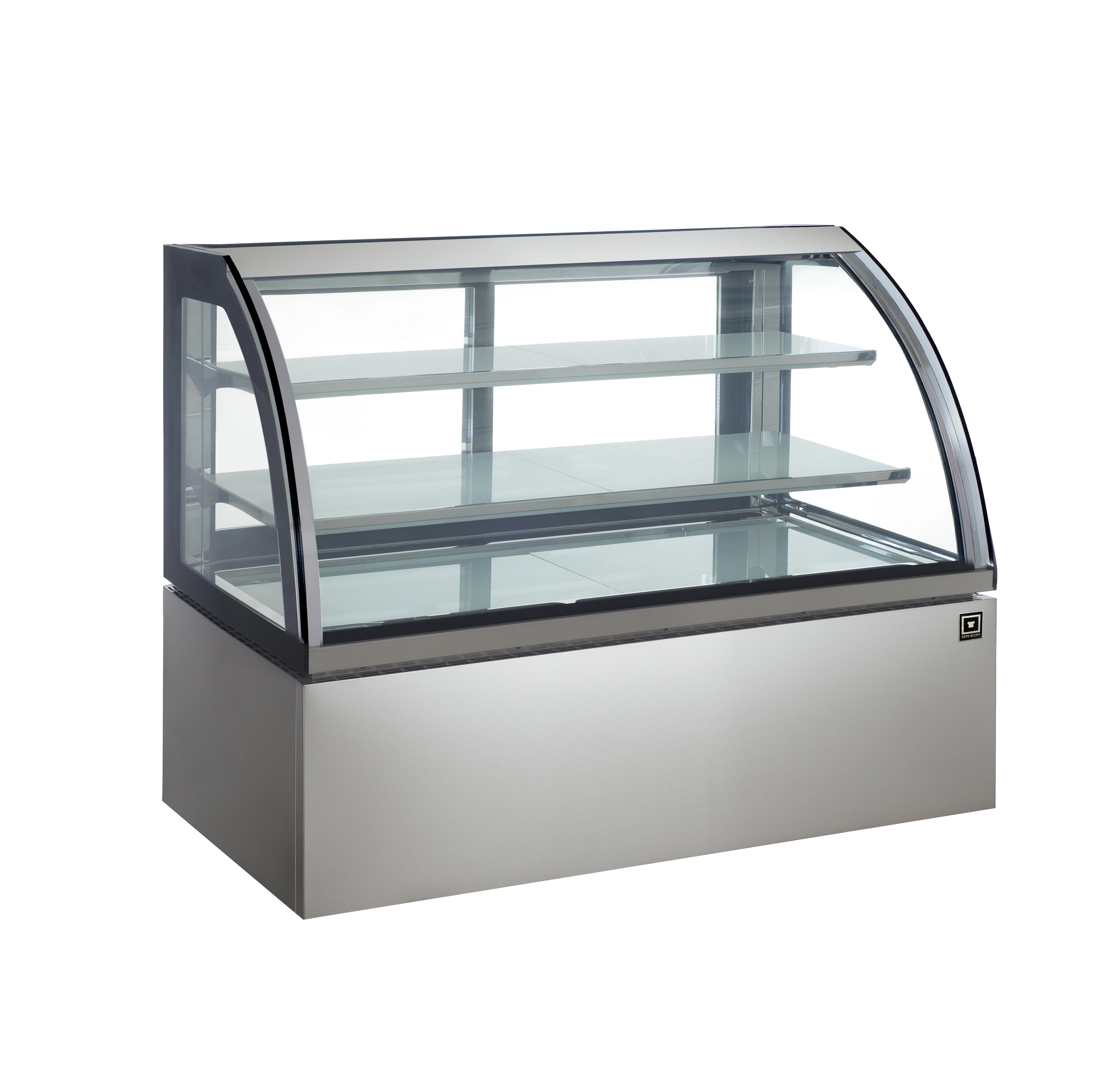 対面冷蔵ショーケース LED仕様 3段(中棚2段)幅1500mmタイプ RCS-K150S2L