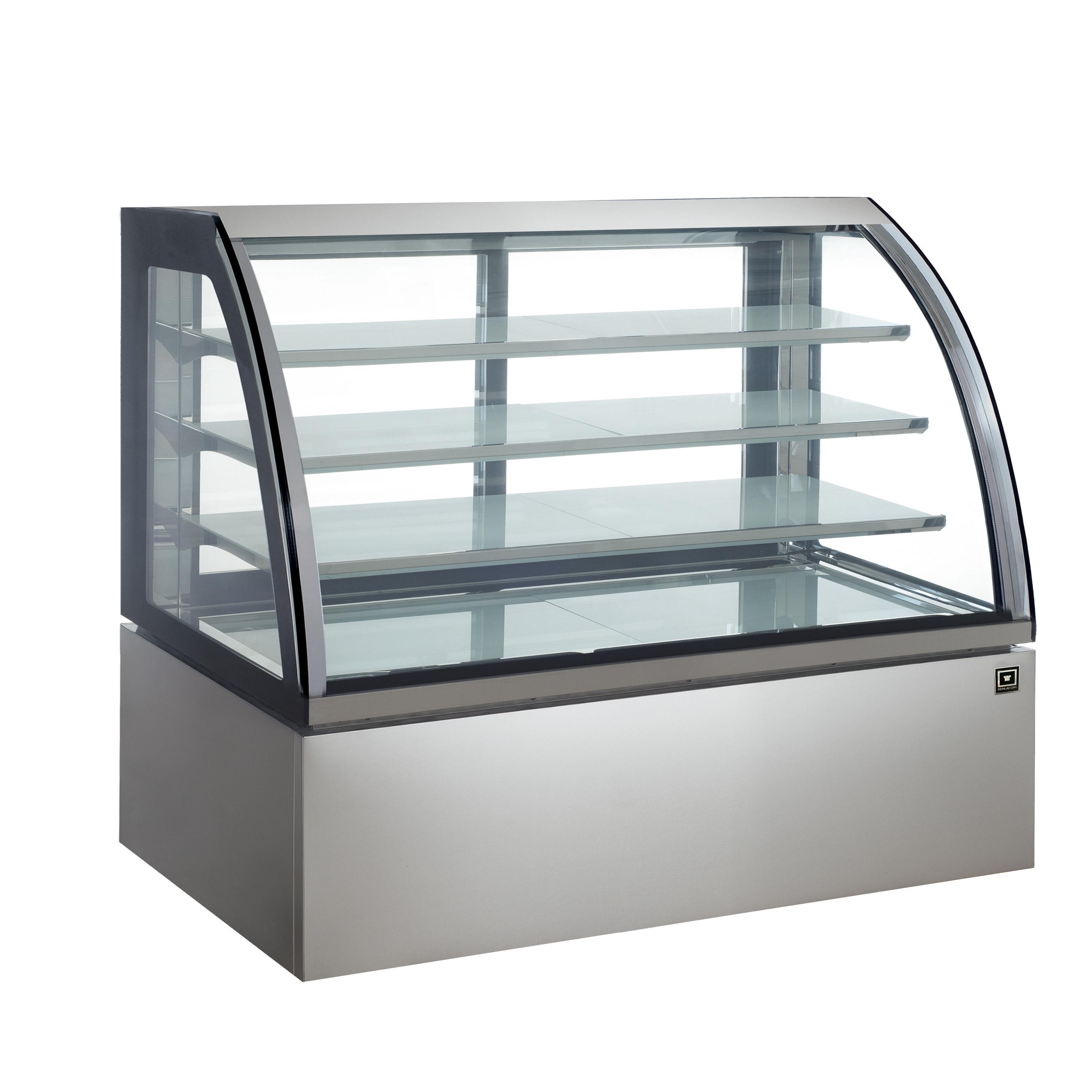 対面冷蔵ショーケース LED仕様 4段(中棚3段)幅1500mmタイプ RCS-K150S3L