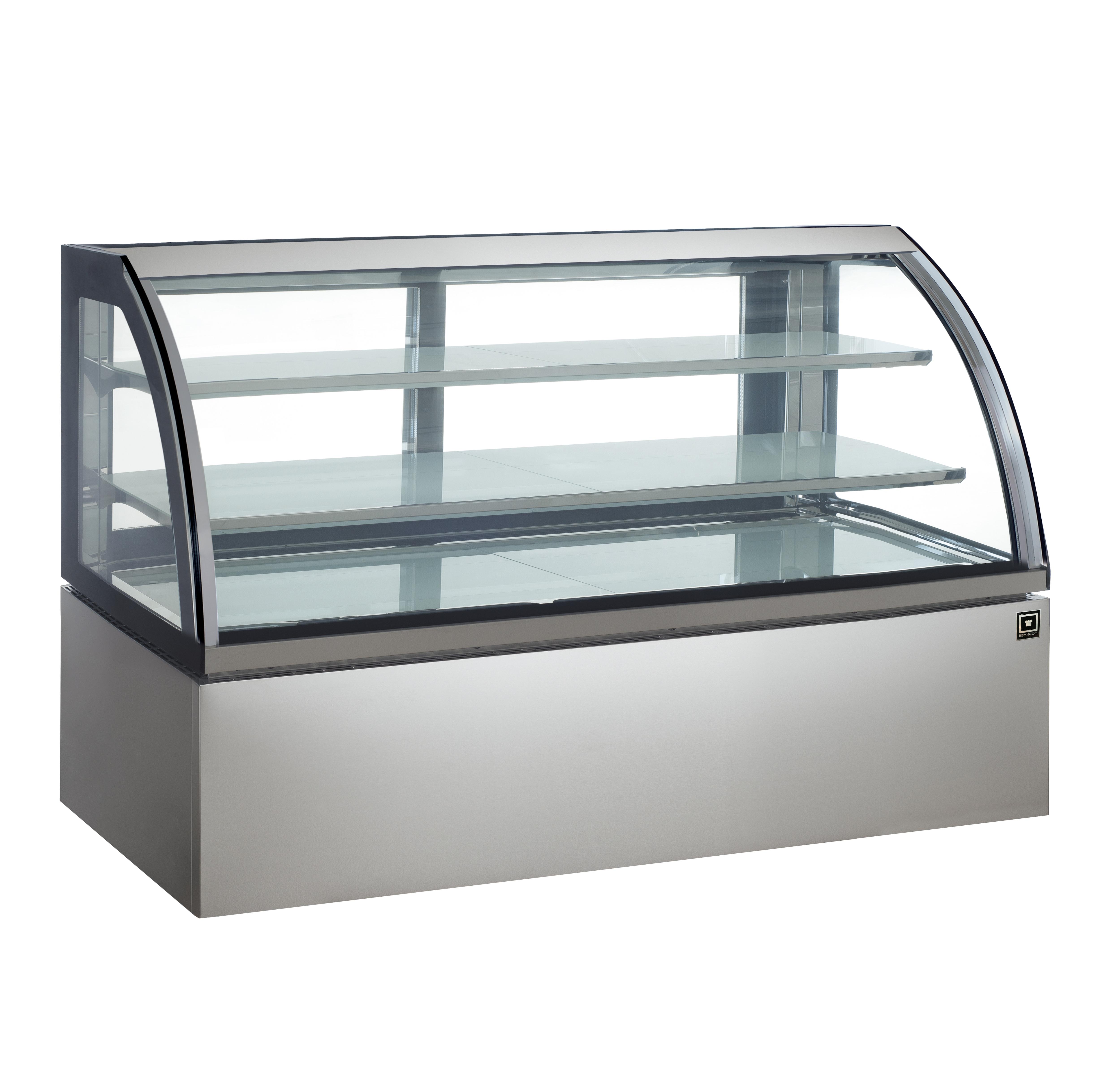 対面冷蔵ショーケース LED仕様 3段(中棚2段)幅1800mmタイプ RCS-K180S2L