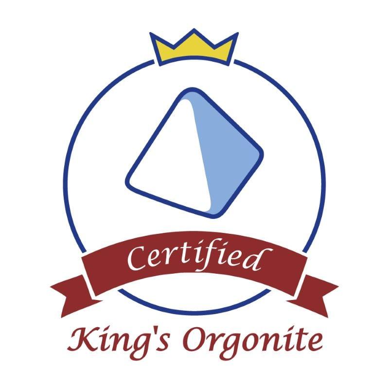 キングズ・オルゴナイト認定マーク