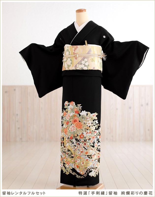特選「手刺繍」留袖 絢爛彩りの慶花