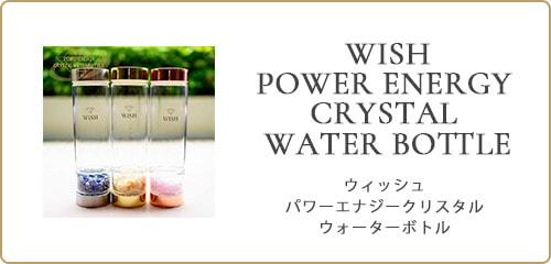 WISH POWER ENERGY CRYSTAL WATER BOTTLE