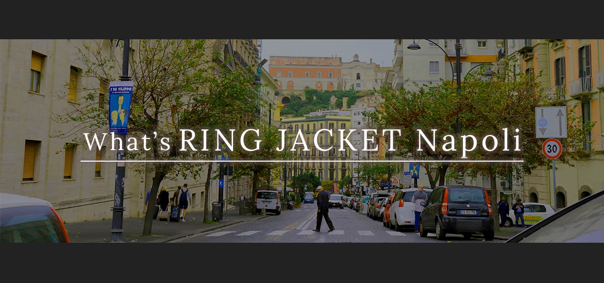 What's RING JACKET Napoli