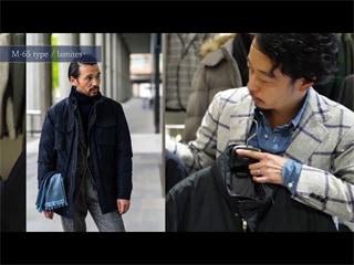 服の向こう側 vol.4 /RING JACKET Napoli アウター編