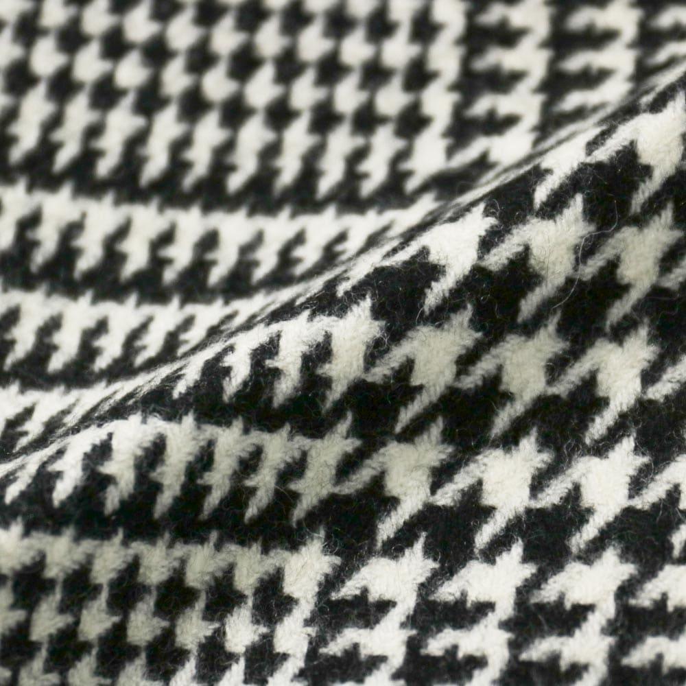 RING JACKET MEISTER KYNOCK/LAMBUS WOOL Model NO-286 ウール3Bジャケット【ブラック&ホワイト/グレンチェック】