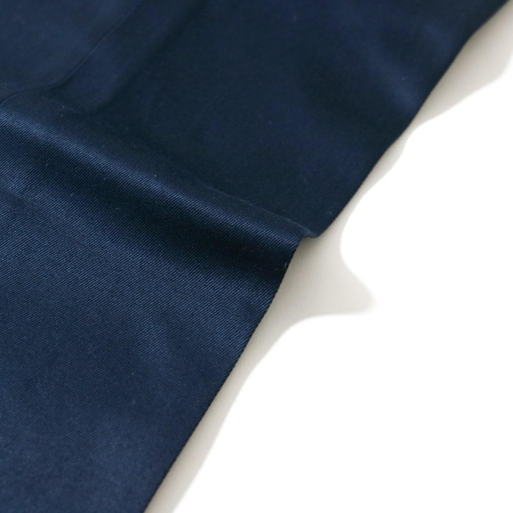 RING JACKET リングヂャケット JAPAN FABRIC WEST-POINT Model S-172 コットン1プリーツスラックス【ネイビー/無地】