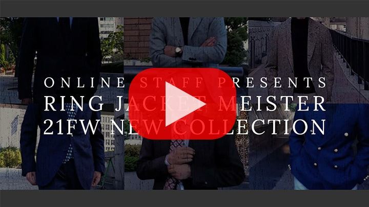 RING JACKET MEISTER 21FW COLLECTION