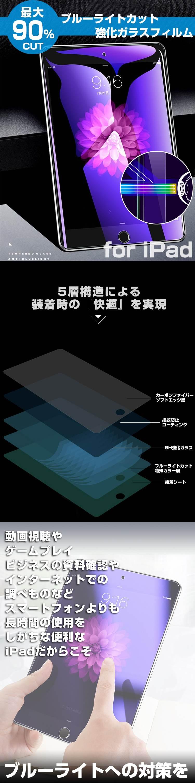 ブルーライトカットiPadフィルム