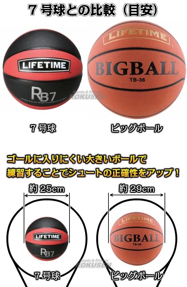 GLOBAL バスケットボール】バスケットボールシュート練習用ボール ビッグボール TB-36