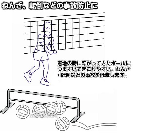 【モルテン・molten バレーボール】防球スタンド VB150