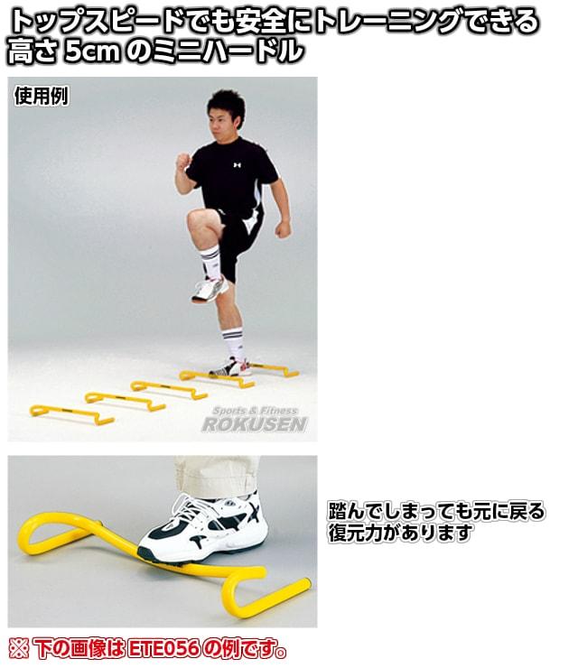 【EVERNEW・エバニュー トレーニング】フレックスハードル5 5台組 ETE055