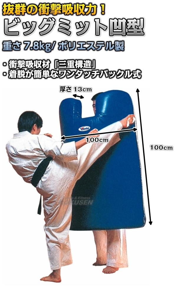 【ウイニング・Winning 格闘技】ビッグミット 凹型 KB-2305