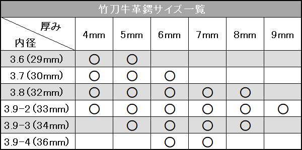 【武藤 剣道】剣道竹刀用鍔