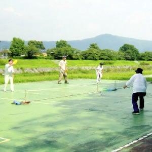 【レジャー・ニュースポーツ ミニテニス×卓球】フリーテニス