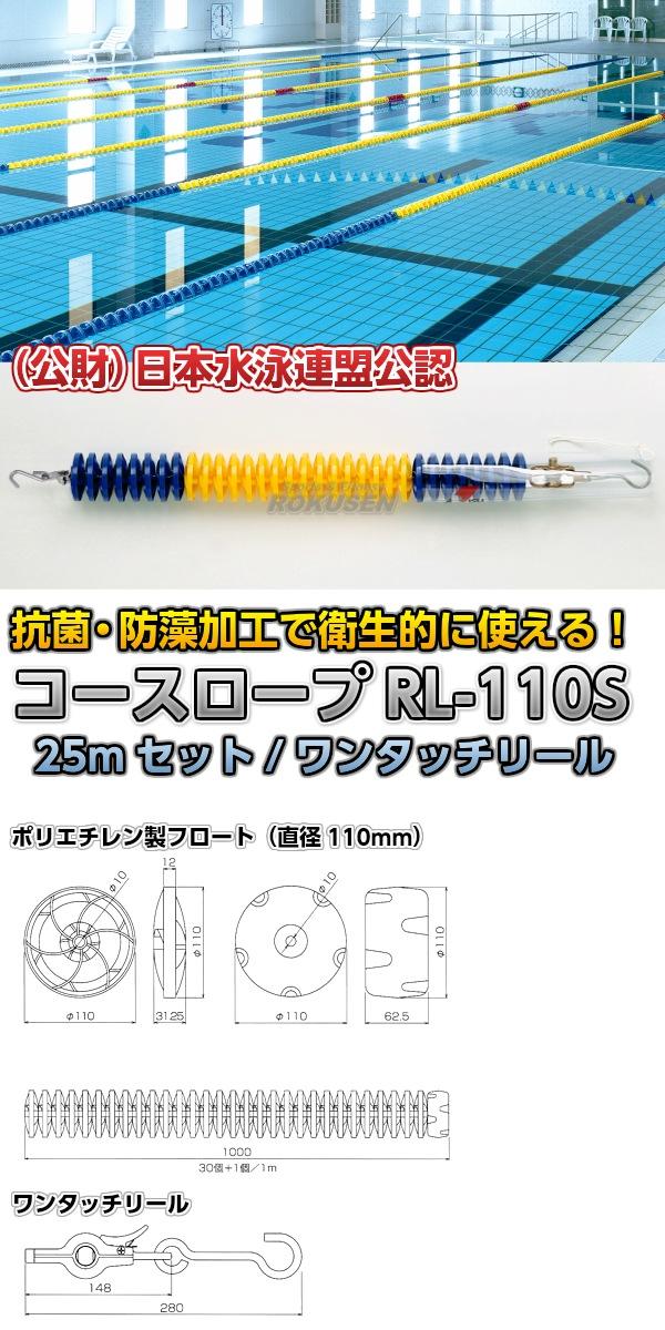 コースロープ RL-110S 25mセット